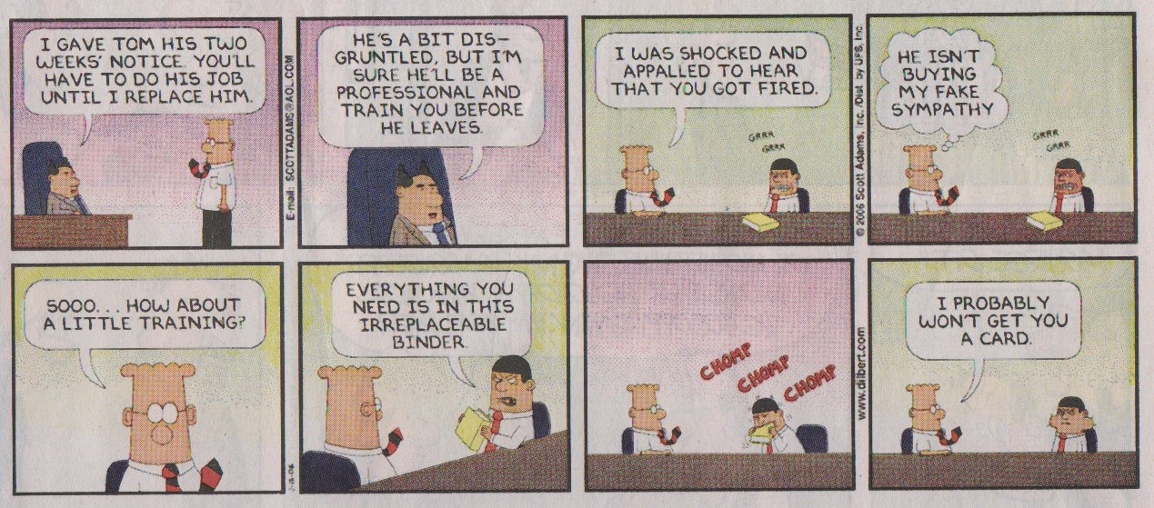 Developer Onboarding Best Practices likewise  additionally Dilbert On Talent Management also Technical Writer Sme Relationship moreover ProjectHandoff. on dilbert project